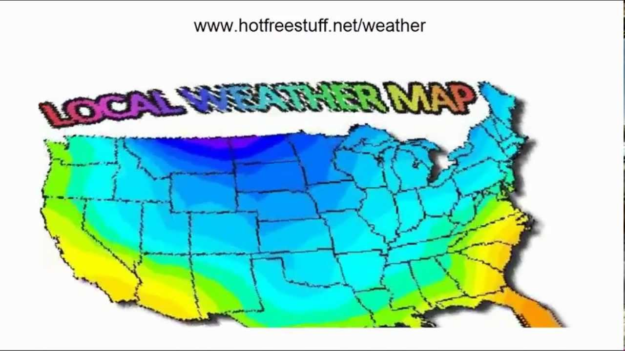 Local Weather Map Youtube