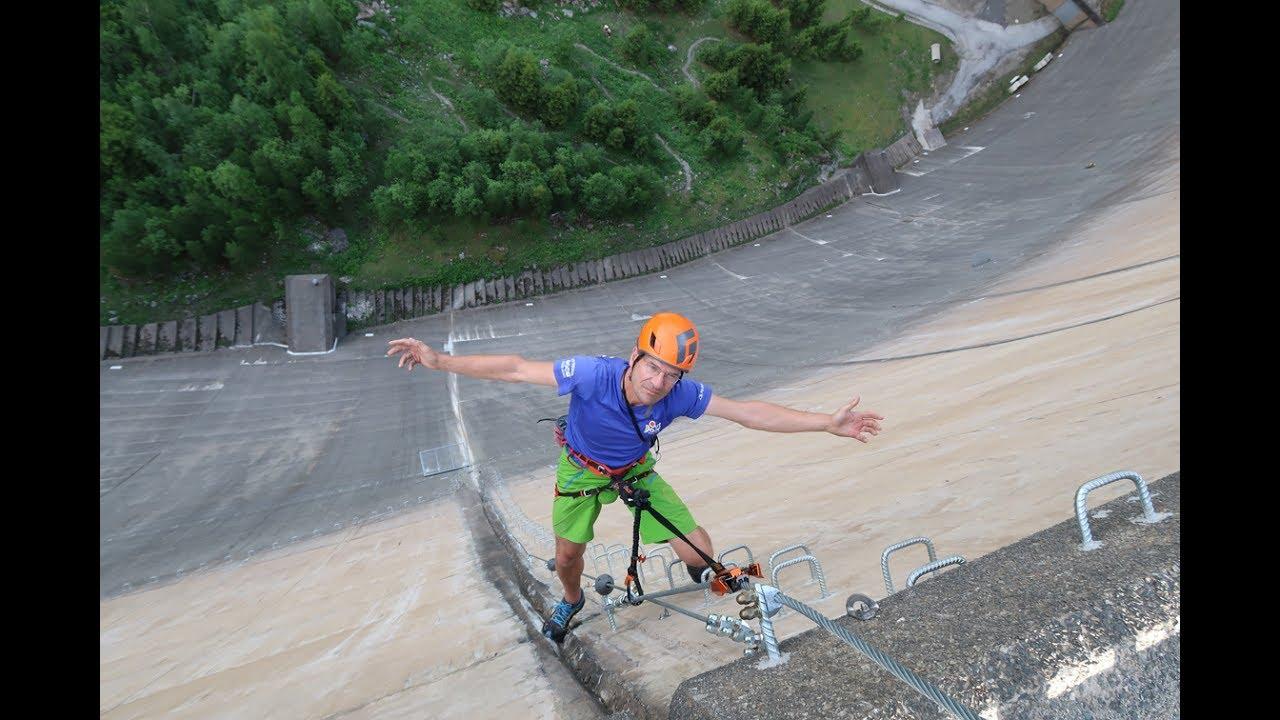 Klettersteigset Mit Bremse : Test klettersteigset skylotec rider youtube
