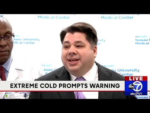 Nassau County issues health warning due to extreme cold