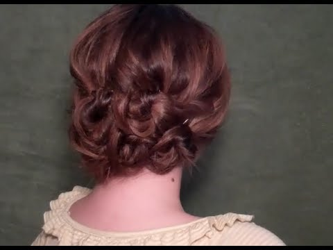 Vintage Bohemian Updo The Quick And Easy Way