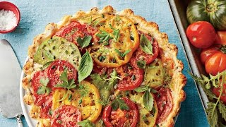 Tomato, Cheddar, and Bacon Pie | Southern Living