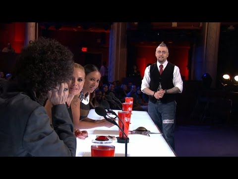 Americas Got Talent 2015 S10E04 Aiden Sinclair Performs a Fantastic Magic Trick