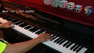 [Piano cover + Hòa âm] Phía sau một cô gái | Soobin Hoàng Sơn | Piano by Nguyen Huyen Vu
