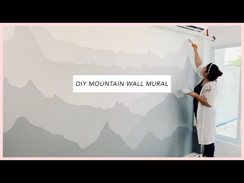diy-//-pinterest-inspired-mountain-wall-mural-painting-//-room-makeover-day-1