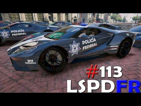 GTA V LSPDFR #113 POLICIA FEDERAL NUEVO SUPER COCHE - UBER SECUESTRA A CLIENTE   TheAxelGamer