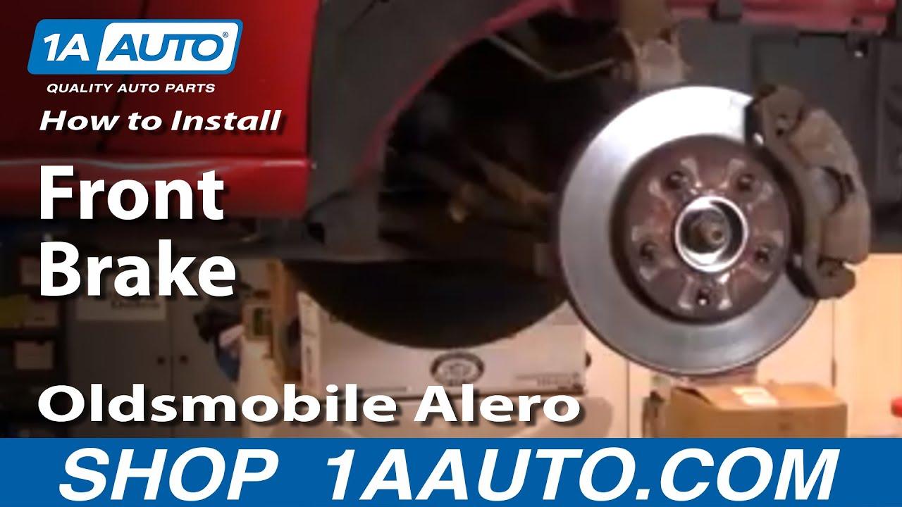 How To Replace Brake Kit 99 04 Oldsmobile Alero 1A Auto Parts