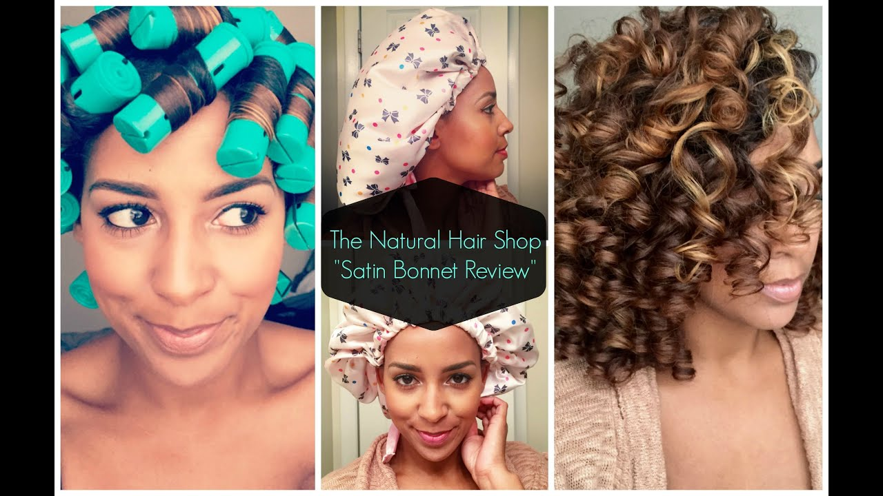 Satin Bonnet Natural Hair Shop