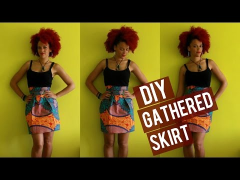 🇬🇲 DIY Gathered African Print Skirt + 10% DISCOUNT CODE FABRICS 🇬🇲 Gambia Culture Couture
