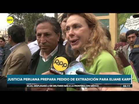 Justicia peruana prepara pedido de extradición para Eliane Karp