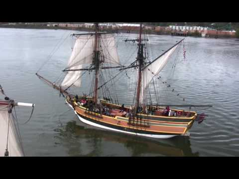 Lady Washington/Hawaiian Chieftain: Columbia River Battle Sail