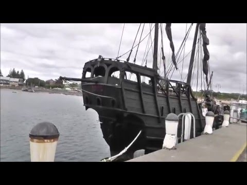 "15TH Century Replica Caravel ""NOTORIOUS"""