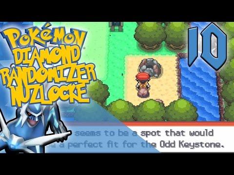 Pokemon Diamond Randomizer Nuzlocke #10 | Slippery Slope!