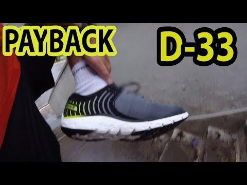 Payback Vlog D-33 - Novo pisante