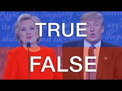Fact Checked: The Clinton/Trump Debate