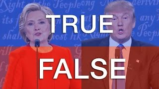 Fact Checked: Clinton/Trump Debate