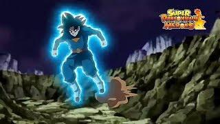 同人动画,《龙珠英雄》第16集,自在极意悟空和扎马斯的最终决战
