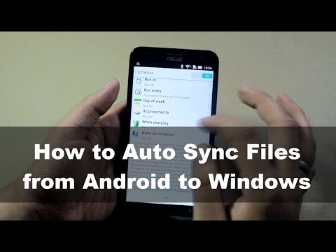 How to Auto Sync Files from Android to Windows  10