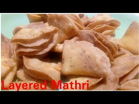 Layered Mathri recipe by Kitchen with Rehana