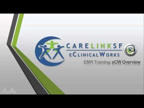 EMR Training: eCW Overview
