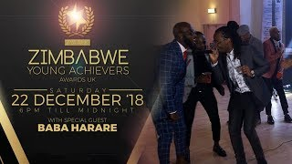 Icey Stanley + Afro Trap Performance at Zimbabwe Young Achievers Awards UK 2018!