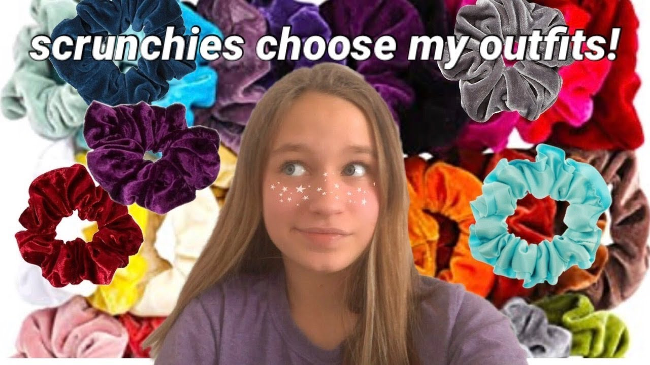 [VIDEO] - SCRUNCHIES choose my outfits for a WEEK (at school)! 9