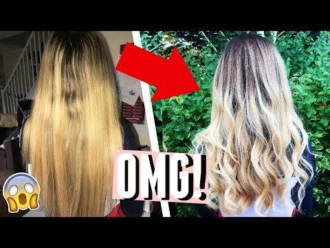 MY HAIR TRANSFORMATION! DYEING MY HAIR OMBRÉ! *SUCCESS*