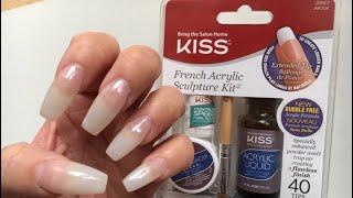 DIY Nägel mit dem Acryl Salon Kit von KISS I Marina si