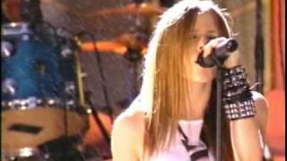 avril lavigne complicated live in mtv vma s 2002