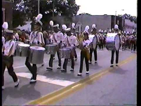 Worth County High School Marching Band - 1987