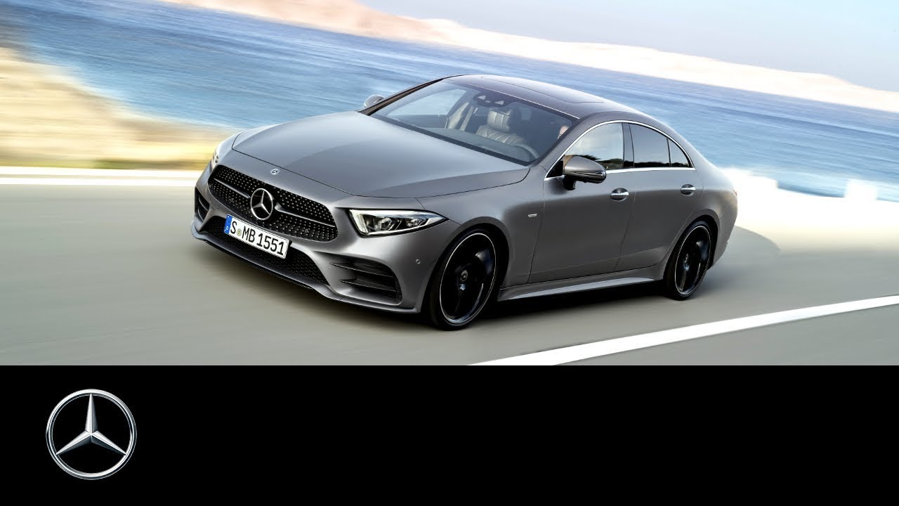 מודיעין Mercedes-Benz CLS 2018: World Premiere Trailer - YouTube HI-08