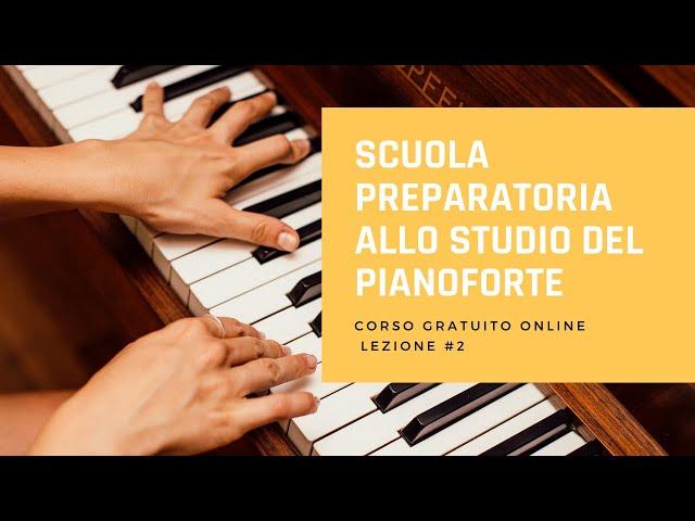 Beyer op.101 - Corso di  pianoforte gratuito - Lezione 2 -Ginnastica per le dita della mano sinistra