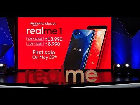 RealMe 1 Live Launch Event