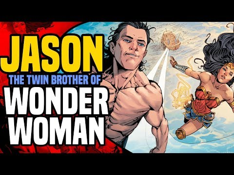 DC Rebirth: The Secret Origin Of Jason The Twin Brother Of Wonder Woman