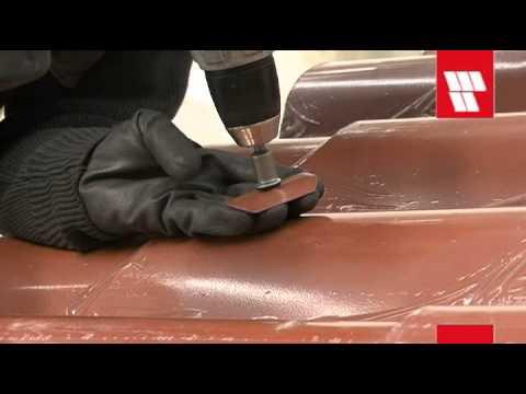 Italpannelli video instalacion panel de cubierta for Cubiertas de panel sandwich imitacion teja