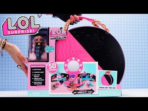 L.O.L. Surprise! Dolls | How To Unbox Hair Salon