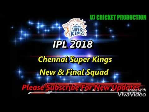 Chennai Super Kings Full Sayad/Ipl 2018/U7 Cricket Production
