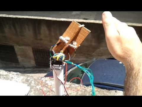 Homemade Arduino Solar Tracker 2 Axis Youtube