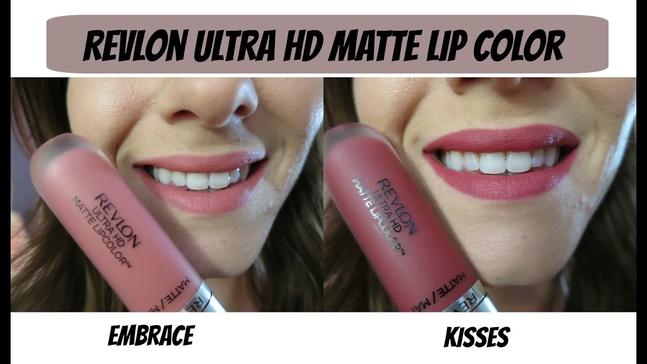 Revlon Ultra Hd Matte Lipcolor Review Swatches Youtube