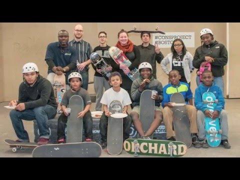 ABCD Housing & Homelessness Prevention Department: Motel Clients Visit POP Allston Skatepark
