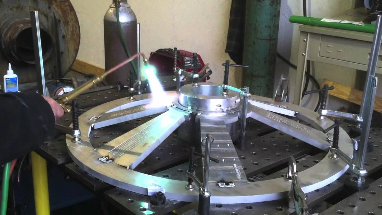 Mig Welding Aluminum Hobart Welder Amp Spool Gun Youtube