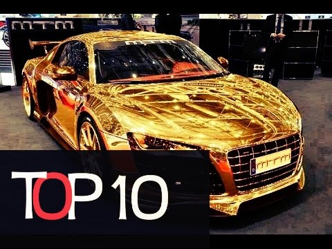 Top 10 Most Expensive Gold Cars In World Youtube
