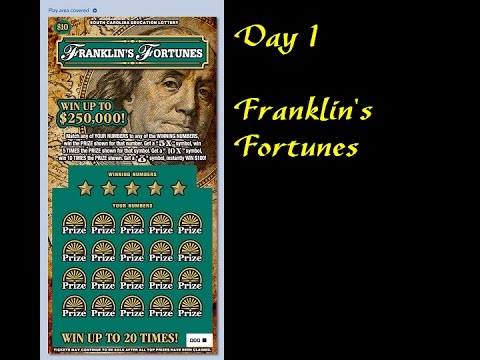 Day 1 - Franklin's Fortunes (New Year's Countdown)