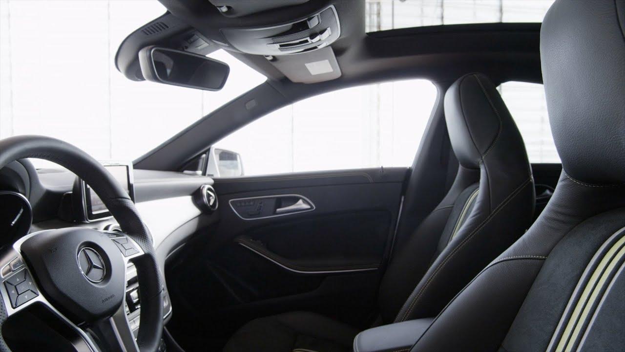 2014 Mercedes CLA 250   INTERIOR   YouTube