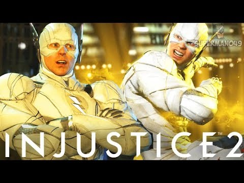 "Legendary JUSTICE LEAGUE Flash 712 Damage Combo! - Injustice 2 ""The Flash"" Justice League Gear"