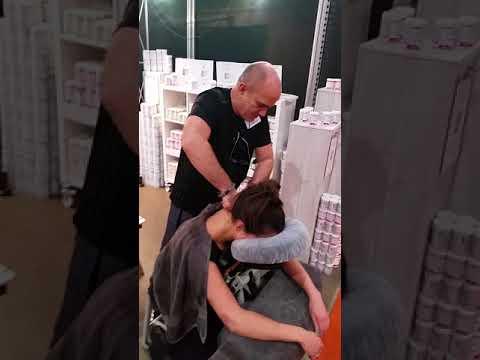 Massage demo Alex van de Bilt