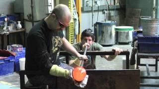 Phil Vickery Glass, 2012, Vortex Pod
