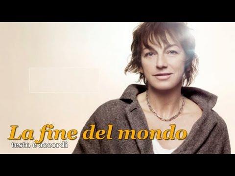 GIANNA NANNINI - LA FINE DEL MONDO - ALBUM INNO - TESTO E ACCORDI