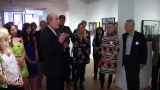 Agora Gallery Opening Reception - April 30, 2015