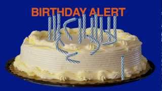 Singing Candles Belated Video Birthday Card