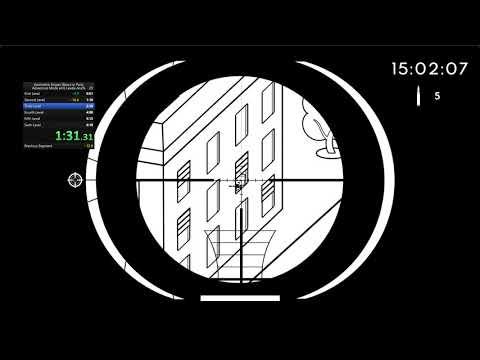 Geometric Sniper: Blood in Paris | 4:55 Any% 6 Lvls WR |